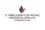 2º Tabelionato de Notas, Protesto, RTD e PJ de Porangatu-GO